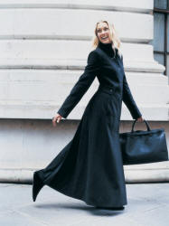 Long Tall Sally maxi winter coat - 2006 Fashion History.